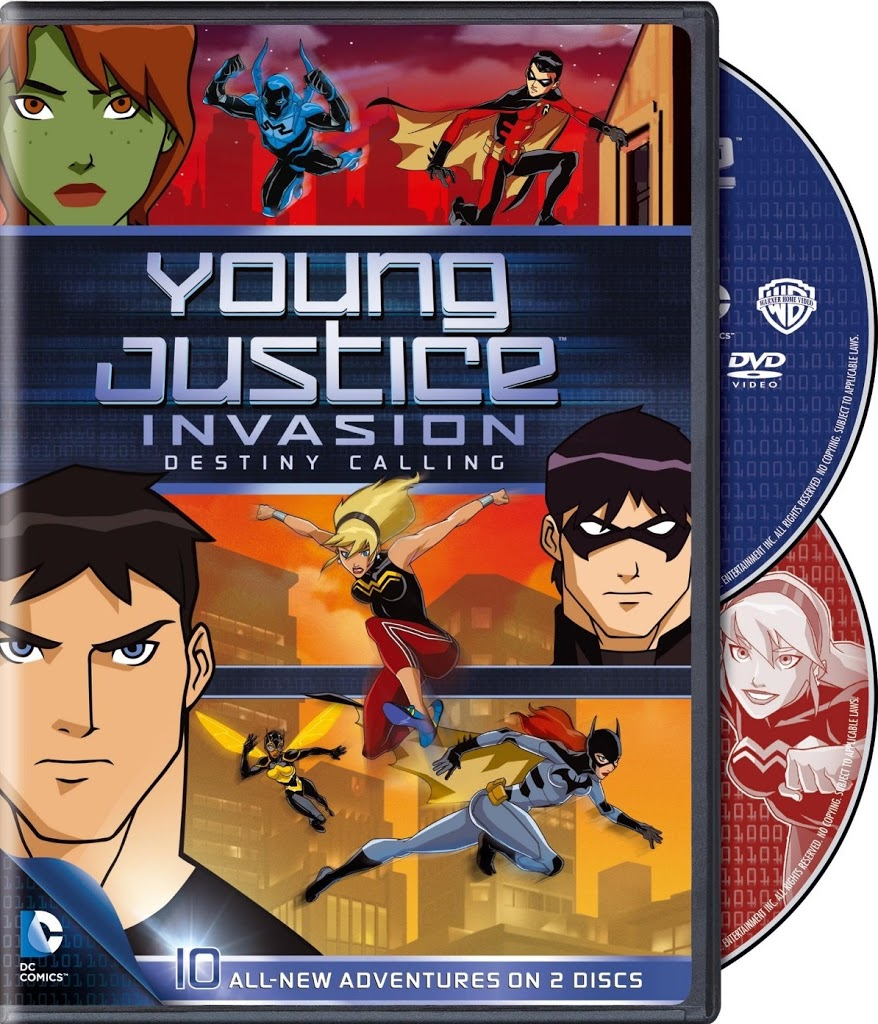 DVD Review: Young Justice Invasion: Destiny Calling - Season 2, Part 1