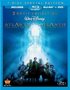 Blu-ray Review: Atlantis: The Lost Empire / Atlantis: Milo's Return [2-Movie Collection]