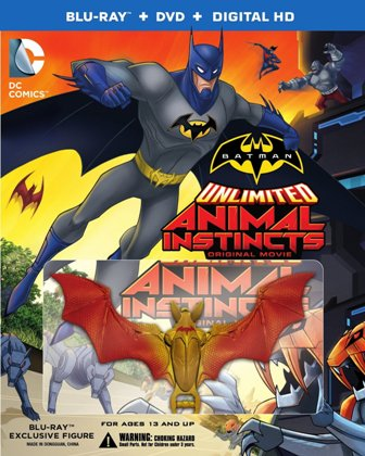 Batman Unlimited Animal Instincts cover