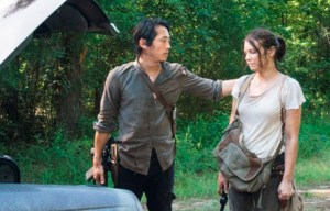 TWD Glenn and Maggie