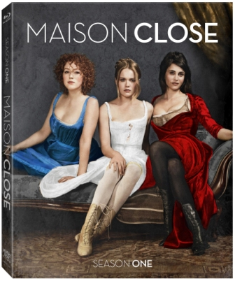 Maison Close Blu ray cover