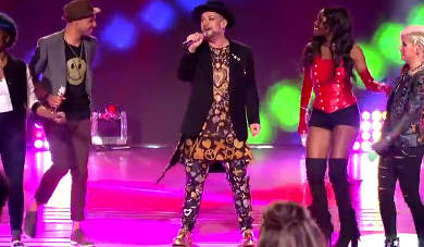 AI Top 9 Boy George