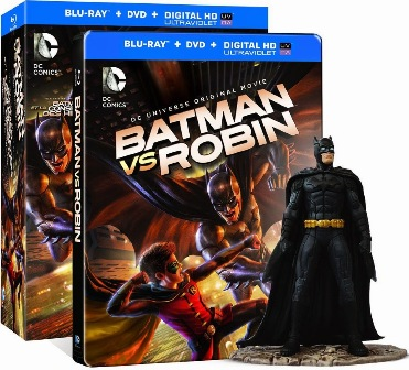 Batman vs Robin Deluxe cover rs