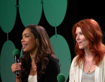 Gina Torres Jewel Staite ECCC 2015 Firefly