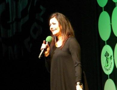 Marina Sirtis at Emerald City Comicon 2015