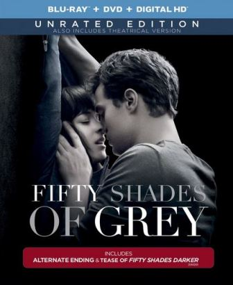 50 Shades of Grey Blu-ray cover