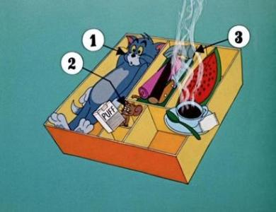 Tom and Jerry cartoon kit