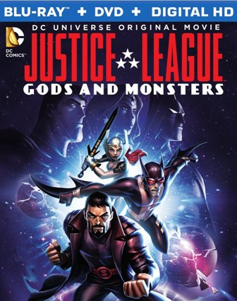 JLA Gods and Monsters BD cover rs