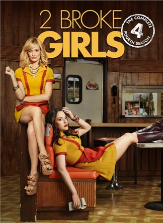 2 Broke Girls Season 4 DVD r