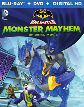 Batman Unlimited Monster Mayhem BD