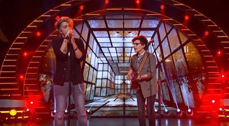 American Idol Top 6 duets Dalton and MacKenzie