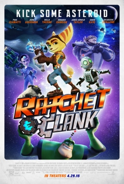 ratchet clank movie poster (257x380)