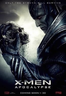 x-men apocalypse poster (262x380)