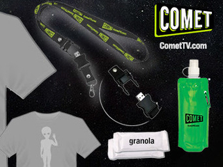 Giveaway: COMET TV Con Survival Kit Prize Pack