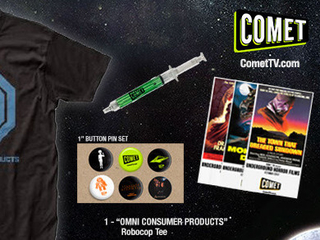 Giveaway: COMET TV October Prize Pack - Robocop Shirt OVER