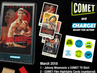 OVER Giveaway: COMET TV and CHARGE! March Prize Pack