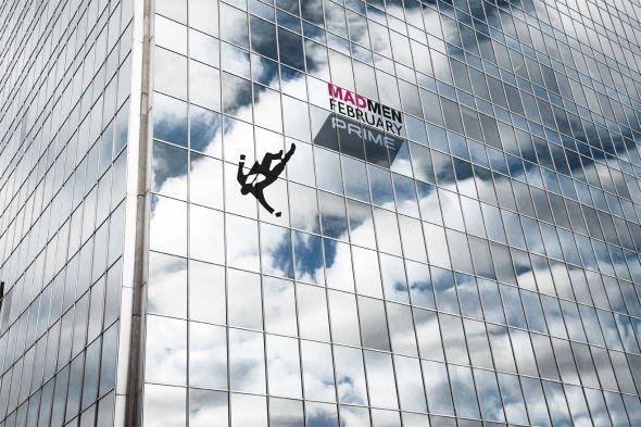 The Fall Tv Series Wallpaper Mad Men Alguien Cae Del Edificio En Nueva Zelanda