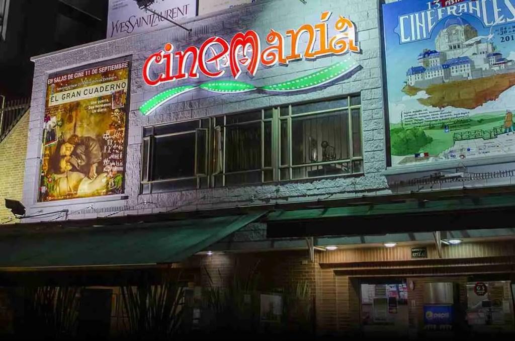 Cinemanía Salas de cine independiente en Bogotá