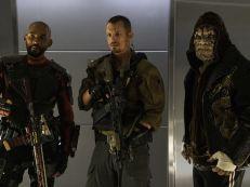 Will Smith - Joel Kinnaman - Adewale Akinnuoye-Agbaje) en Suicide Squad