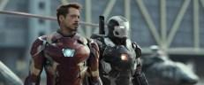 Marvel's Captain America: Civil WarL to R: War Machine/James Rhodes (Don Cheadle) and Iron Man/Tony Stark (Robert Downey Jr.) Photo Credit:© Marvel 2016