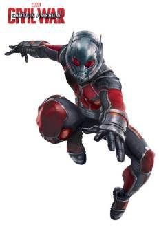 Marvel's Captain America Civil War Promo Art - Ant-Man