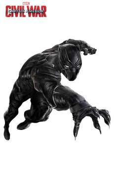 Marvel's Captain America Civil War Promo Art - Black Panther