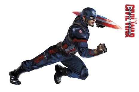 Marvel's Captain America Civil War Promo Art - Captain America