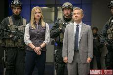Sharon Carter (Emily VanCamp) & Everett Ross (Martin Freeman) in Marvel's 'Captain America: Civil War'