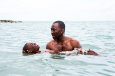 Mahershala Ali y Jaden Piner in Moonlight