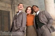 Murder on the Orient Express - Manuel Garcia-Rulfo, Daisy Ridley, Leslie Odom Jr.