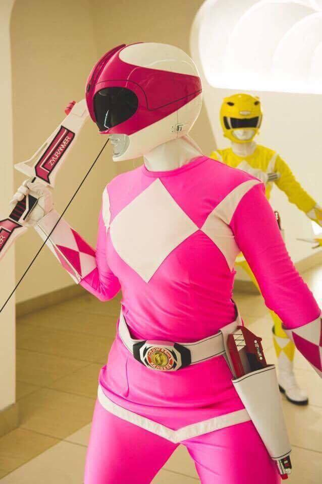 pink and yellow rangers
