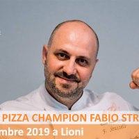 Il Master Pizza Champion Fabio Strazzella è pronto per Lioni!