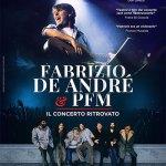 Locandina Fabrizio De André e PFM – Il concerto ritrovato