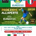 Locandina Euro 2020 La Finale Italia Inghilterra
