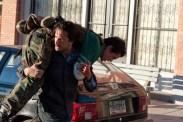 Johnny Knoxville et Rodrigo Santoro dans The Last Stand (2013)
