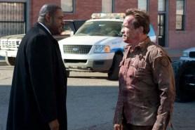 Arnold Schwarzenegger et Forest Whitaker dans The Last Stand (2013)