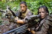 Adrien Brody et Alice Braga dans Predators (2010)