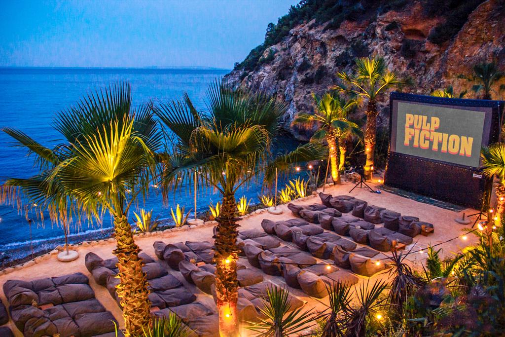 Amante Beach Club  Cinema Paradiso Ibiza