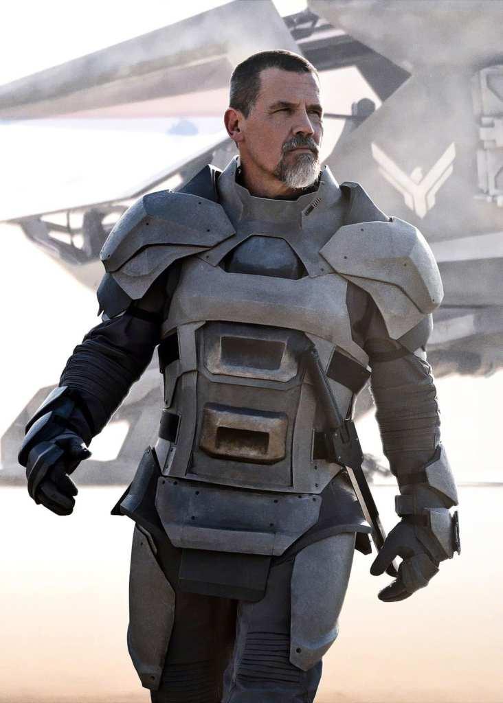 El actor Josh Brolin actúa en la película de Dune