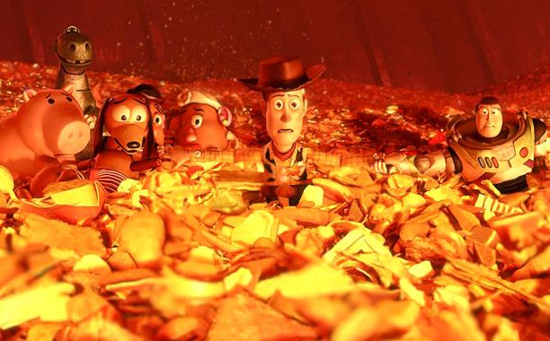 Toy Story 3 tiene un deus ex machina