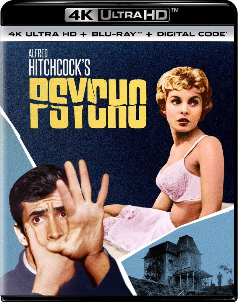 4k Blu-Ray de Psycho de Alfred Hitchcock