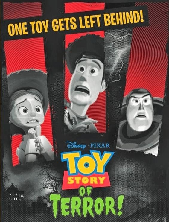 Cortometraje Toy Story de Terror
