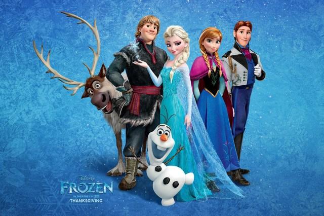 Cinemascope Frozen uma aventura congelante 7 - Favoritos do mês ♥