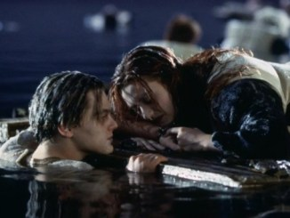 leonardo dicaprio titanic door jack and rose
