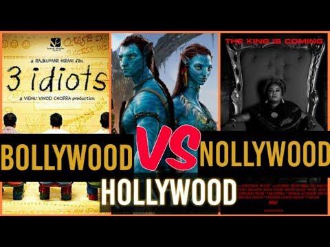 nollywood vs bollywood vs hollywood