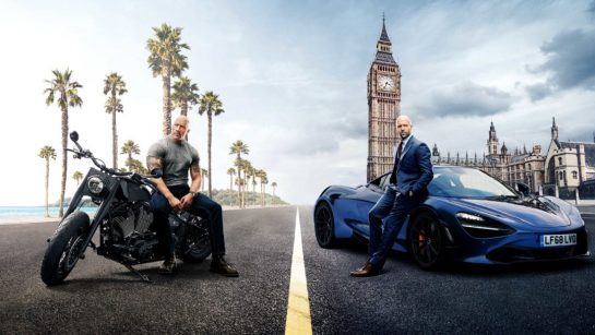 Hobbs and Shaw cinema shed