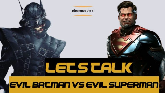 injustice superman vs batman who laughs
