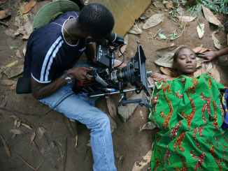 filming of a Nigerian movie