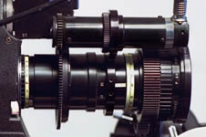 Color photo of lens