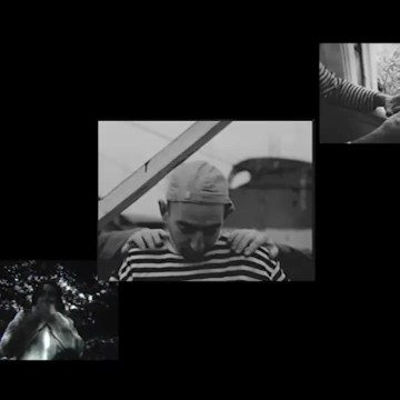 multiple frames of faces from film 1 + 1 =